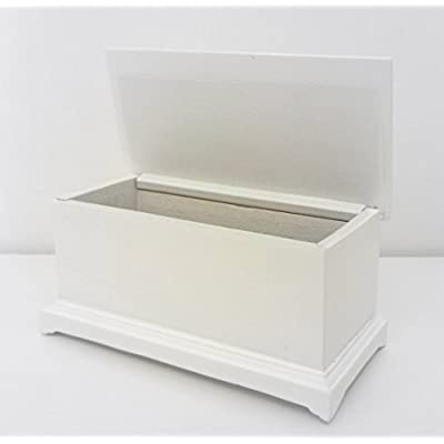 Dollhouse Miniature 1:12 Scale Large White Toybox #T6249: Toys & Games