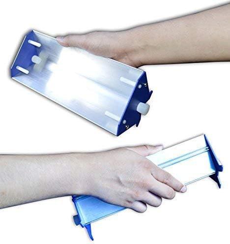 15cm 6 TECHTONGDA Emulsion Scoop Coater Silk Screen Printing Aluminum Coating Tools DIY Apply