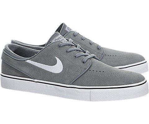 online store 1c286 a24e6 Galleon - Nike Men s Zoom Stefan Janoski Cool Grey White Black Skate Shoe  12 Men US