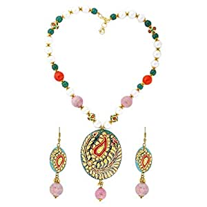 Arabella Luxuries Alloy Rang Jewelry Set - 2 Pieces