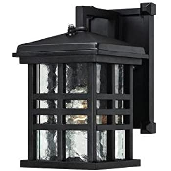93f76640789 Home Decorators Collection Summit Ridge Collection Zinc Outdoor Integrated  LED Dusk-to-Dawn Medium