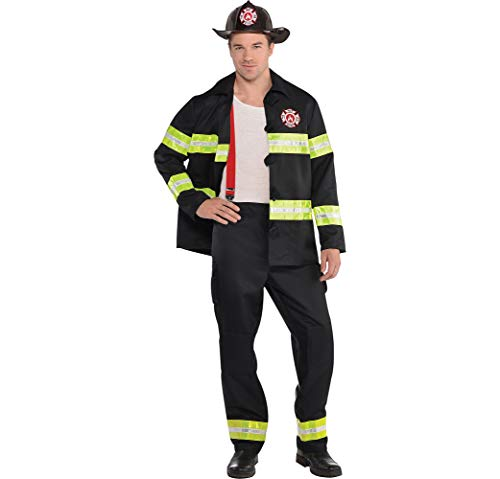 (Adult Rescue Me Firefighter Costume - X-Large)