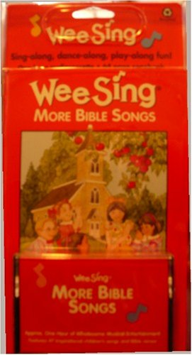 Wee Sing More Bible Songs - Continuing the Celebration of the Bible in Music and Song - Sing-along, Dance Along, Play Along Fun! - One Hour Audiocassette and 64 Page Booklet