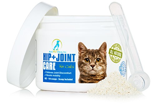 Ace-Pet-Health-Joint-Support-Powder-6oz-Glucosamine-Chondroitin-for-Cats-with-MSM-Arthritis-Pain-Relief-for-Cats-with-Kona-Berry-and-Turmeric-Anti-inflammatory-for-Cats