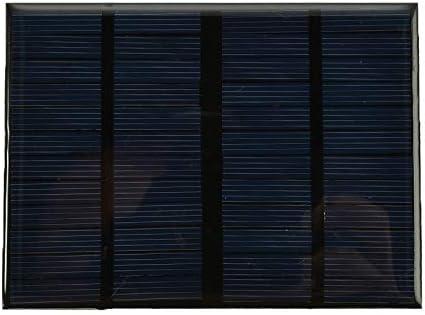 Z.L.FFLZ Mini Solar-Panel Mini-Solarzelle Solar Panel Standard-Epoxy Polykristalline Silizium DIY Batterielade-Brett-Modul 12V 1.5W