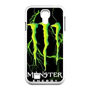 Samsung Galaxy S4 I9500 Phone Case White Monster Energy QY8517157