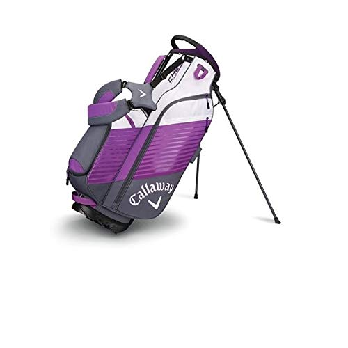 Callaway Golf Chev Stand Bag Stand / Carry Golf Bag 2017 Chev Black/Silver/White