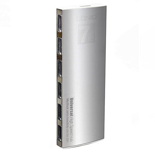 Tektalk 7 Port Universal Aluminum Cable Silver
