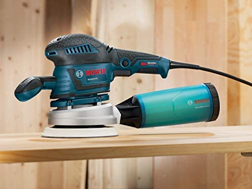 Bosch 120-V 6-Inch Random Orbit Sander Polisher with Vibration Control ROS65VC-6