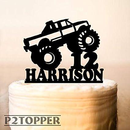 Decoración para tarta de camión, camión, camión, camión ...