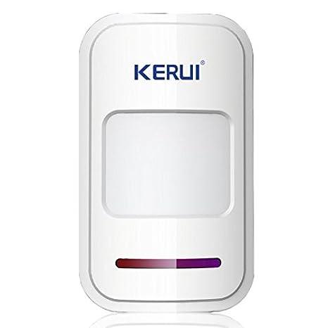 KERUI inalámbrico GSM SMS Android IOS APP Home antirrobo ...