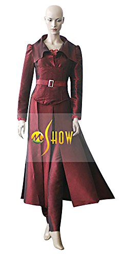 [Mtxc Women's X-Men Cosplay Costume Jean Grey Full Set Size Medium Red] (Women X Men Costumes)