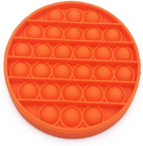 Squeeze Sensory Toy ELYAN 3PCS Push pop pop Bubble Sensory Fidget Toy Silicone Stress Reliever Toy,Autism Special Needs Stress Reliever,for Kids,Family,Students,and for Friends,