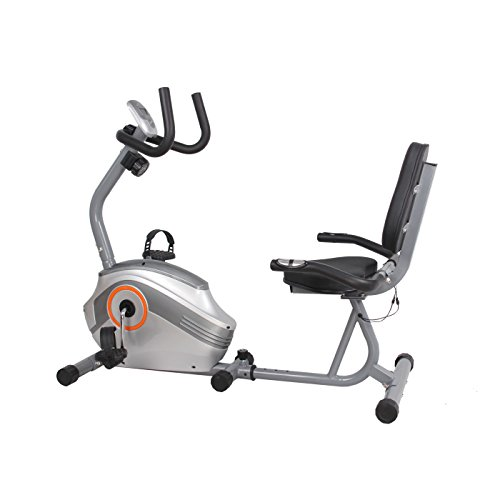 US Pride Furniture FN98005B Magnetic Recumbent Exercise Bike