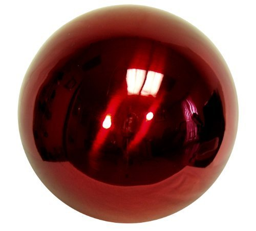 Echo Valley 8705 10-Inch Stainless Steel Gazing Gazing Globe, Red by Echo Valley by Echo Valley