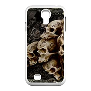 SamSung Galaxy S4 I9500 Skull Phone Back Case Customized Art Print Design Hard Shell Protection TY112929