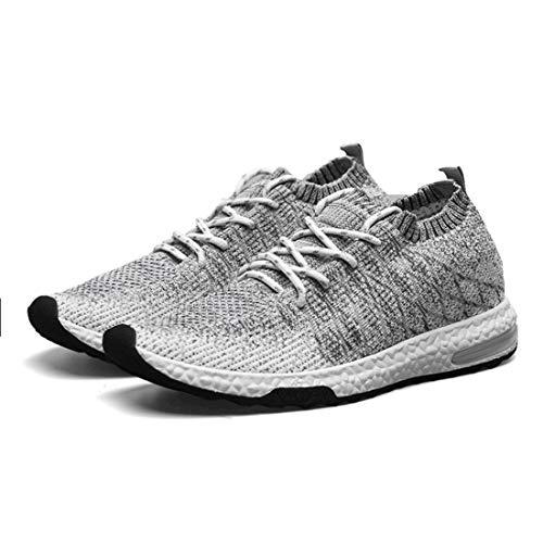 Hommes Léger Chaussures Jogging Sneakers Chaussures Automne Course Tricoté Respirant De Marche Hiver Ultra Sport Casual Entraîneur fqRttw