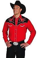 Western Express Men's Cotton Blend Floral Embroidery Shirt