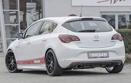 Rieger Trasero Uso Aspecto de Carbono para Opel Astra J: 10,12 (a Partir de Facelift): Amazon.es: Coche y moto