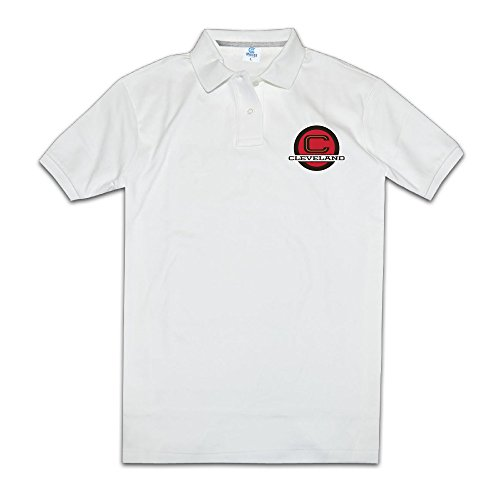 Men Fashion O Neck Cavs To Wear 90 Polo Tshirts Size XL Color White ()