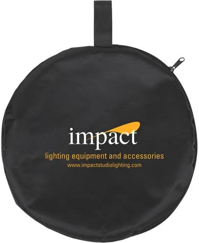 42, Translucent Impact Collapsible Circular Reflector with Handles