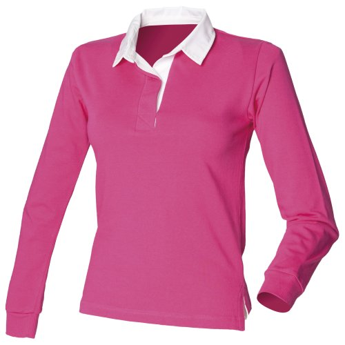 Cotone Pink Donna Row Front 100 Polo Uqwt4X8