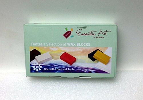 Encaustic Art Wax 16 Wax Block Colors Fantasia Selection New in the (Encaustic Wax Art)