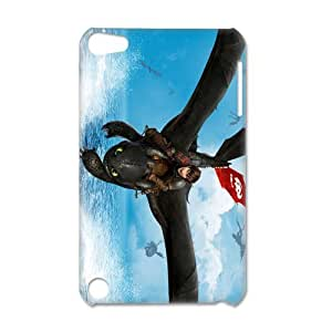 3D Print 2014 New Design!How to Train Your Dragon 2 Background Case Cover for IPod Touch 5- Personalized Hard Back Protective Case Shell-Perfect as gift