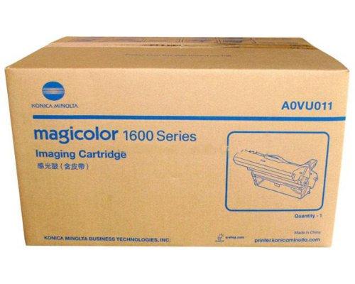 Magicolor Laser Color Printer (Konica Minolta MagiColor 1600W Laser Printer OEM Drum - 45,000 Pages Mono, 11,250 Pages Color)