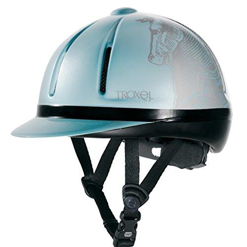 Schooling Helmet (Troxel Legacy Schooling Helmet Medium Sky Antiquus)
