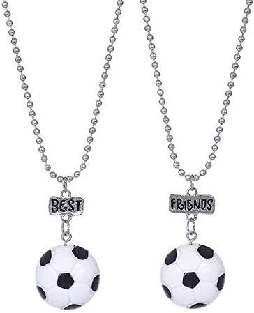 HHDYGASRW Colgante De Fútbol Hombres Collar De Cadena Collar De ...