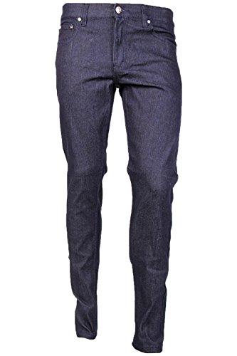 Victorious Men's Skinny Fit Color Jeans-36x32-Indigo