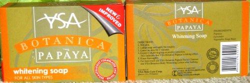 Ysa Botanica Papaya Whitening Soap for All Skin Types 135gr Halal