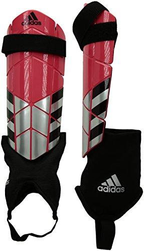 adidas Ghost Reflex Shin Guards, Bright Red/Black, Medium ()