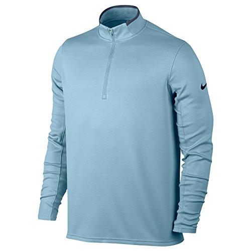 (Nike Dry Half-Zip Men's Golf Top - Ocean Bliss (Large))