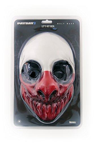 Gaya - Masque Payday 2 - Wolf en Vinyl - 4260354645074 (Payday 2 Best Masks)