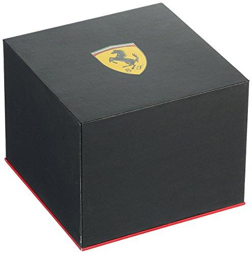 Ferrari Men 0830261 REDREV EVO Analog Display Japanese Quartz Black Watch