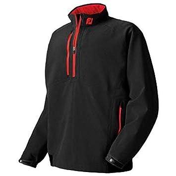 Footjoy Mens DryJoy Waterproof Tour Rain Shirt 95286 Black Red Small