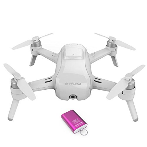 Yuneec-Breeze-Flying-Camera-with-Two-Batteries-Charger-and-Carrying-Case-FREE-USB-Reader