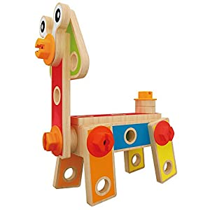 Hape Basic Builder Toddler Wooden Play Set
