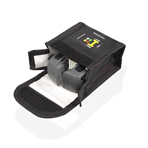 Drone Fans LiPo Safe Bag Battery Case Protective Storage Bag for DJI Spark Drone ( Large Size)