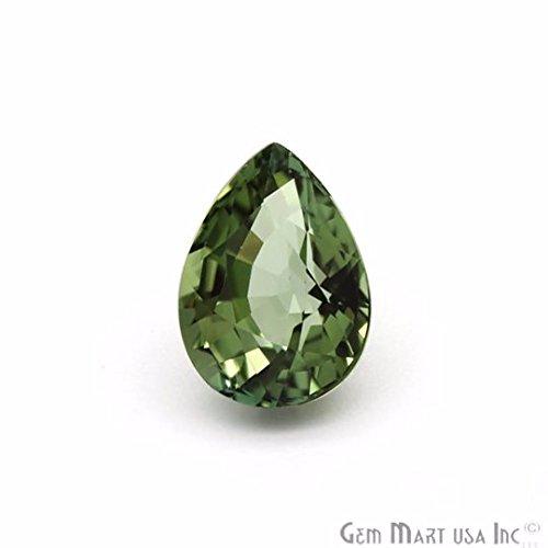 Pear Cut Faceted (GemMartUSA Loose Gemstone Rare Cat-Eye's Tourmaline, Faceted Tourmaline Cut Loose Gemstone, 5.00 Cts Pears Tourmaline, (TU-10013))