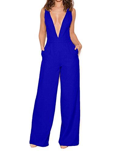 UONBOX Womens Sleeveless Elegant Jumpsuit product image
