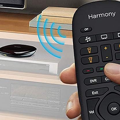 Logitech HARMONY COMPANION Universalfernbedienung, Für Kabelbox, Apple TV, fireTV, Alexa, Roku, Sonos und Smart Home-Geräten, Einfache Einrichtung mit App, LG/Samsung/Sony/Panasonic/Xbox/PS4 - schwarz 3