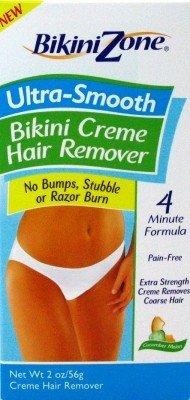 Bikini Zone Ultra-Smooth Hair Remover Creme 2 oz.