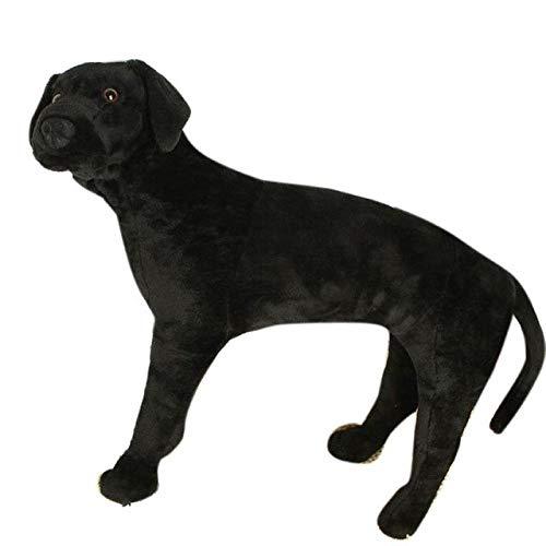 en promociones de estadios XuBa XuBa XuBa FT50608 Juguete de simulación de Perro Labrador de Peluche Grande de 24 Pulgadas, Gran Regalo para niños, Color Negro  auténtico