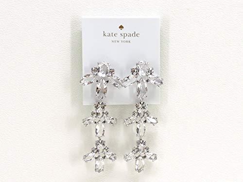 Kate Spade New York Ice Queen Chandelier Earrings Rhodium Plate