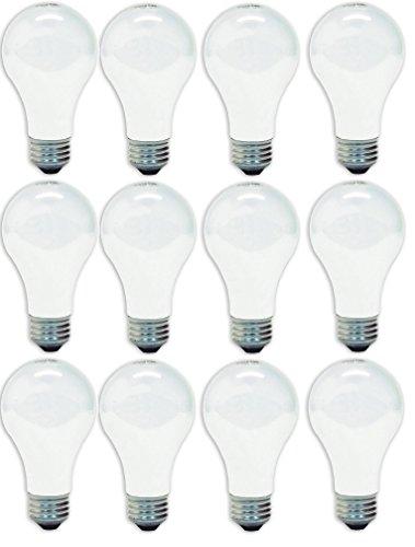 GE Lighting 41028 60-Watt A19, Soft White, 12-Pack