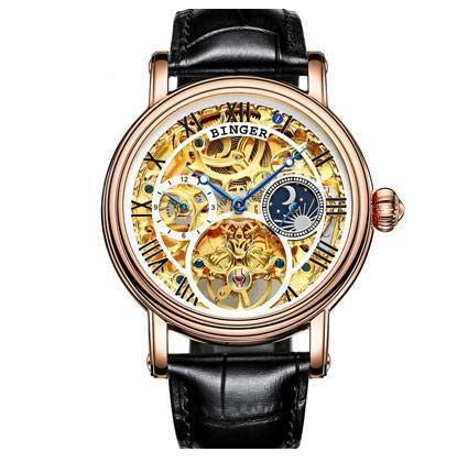 Lara Lea Leather & More, LLC Automatical Mechanical Watches - Style 1