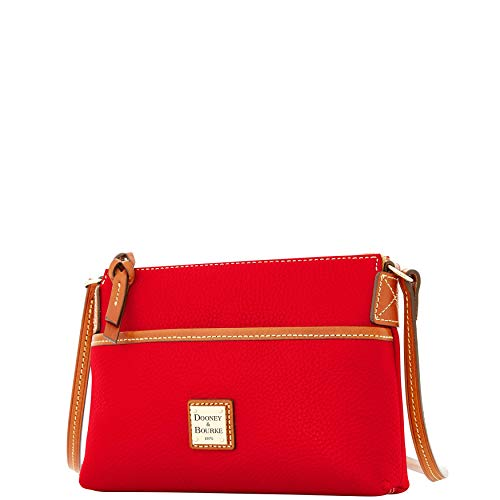 Bourke Bag amp; Shoulder Pouchette Pebble Dooney Red Grain Ginger 1gSq1zw
